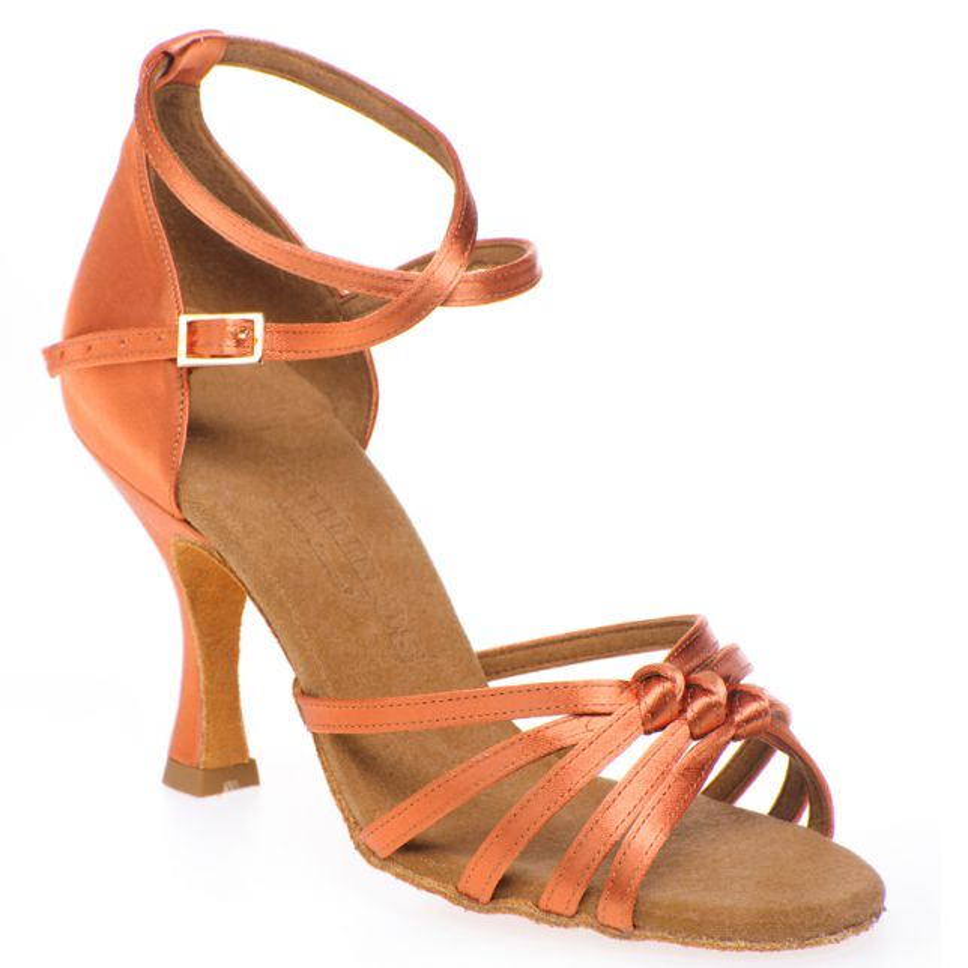 "Chaussures de danse Rummos ""Melissa"" satin tan"