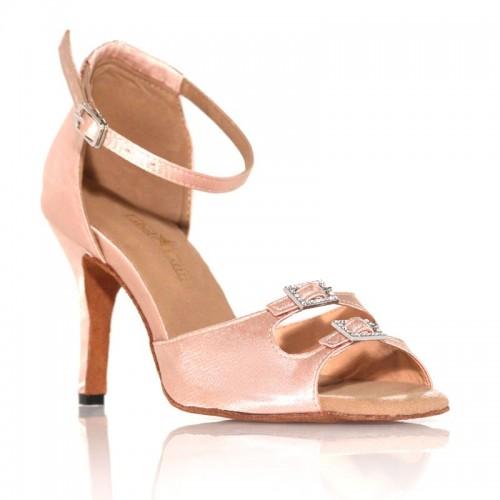 "Chaussures de danse Label Latin ""Strass"" beige clair"