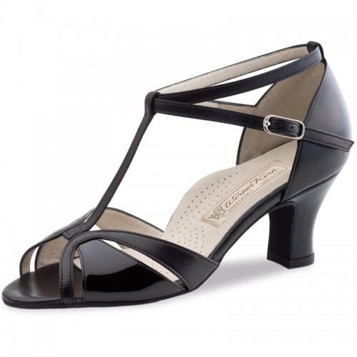 """Chaussures de danse Werner Kern """"Hope"""" 6 cm cuir noir"""
