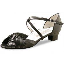 "Chaussures de danse Werner Kern ""Ulla"" 3,4 cm cuir noir"