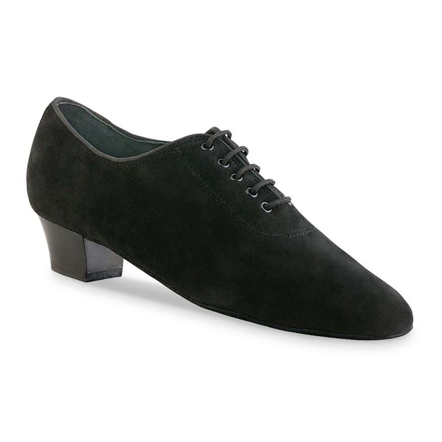 "Chaussures de danse Anna Kern ""Flavia"" 3 cm daim noir"