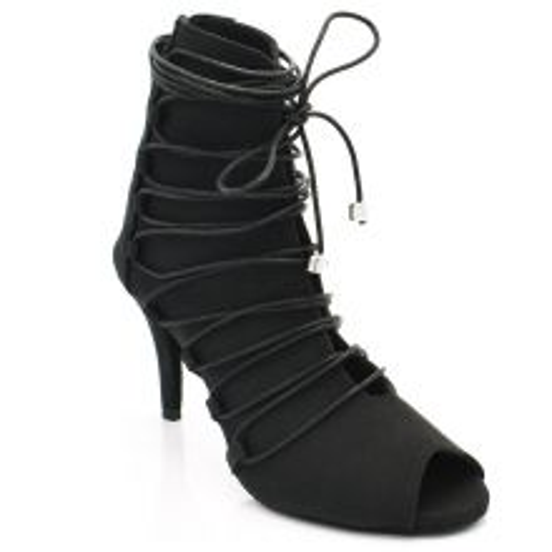 "Chaussures de danse kizomba Label Latin "" Alexa"" noir"