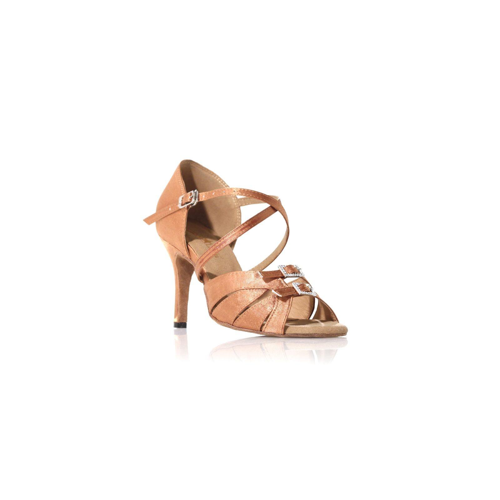 chaussures de danse label latin diamond cuivr. Black Bedroom Furniture Sets. Home Design Ideas