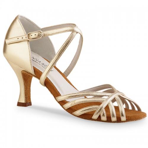"""Chaussures de danse Anna Kern """"Paloma"""" 6 cm cuir or"""