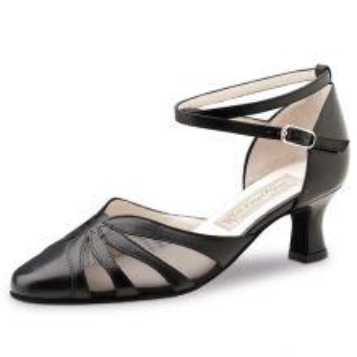 """Chaussures de danse Werner Kern """"Linda"""" 5,5 cm cuir noir"""
