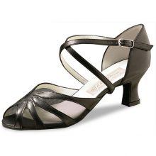 "Chaussures de danse Werner Kern ""Liz"" 5,5 cm cuir noir"