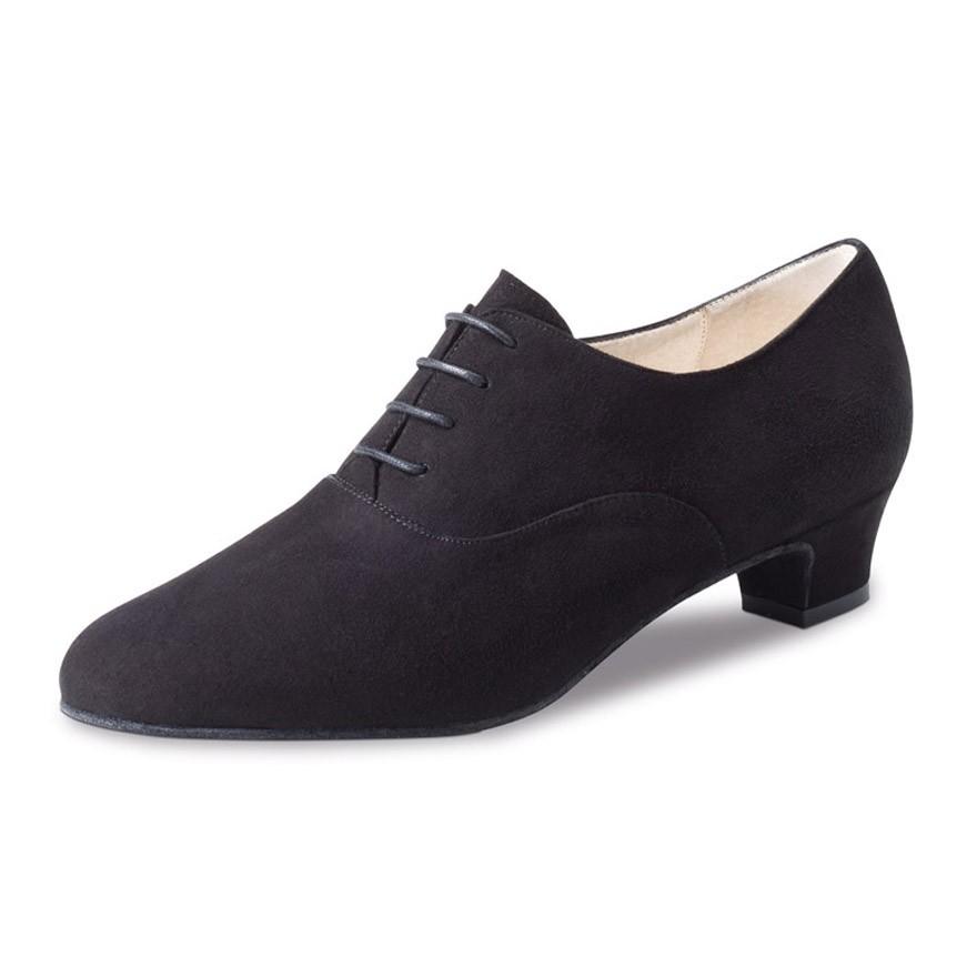 "Chaussures de danse Werner Kern ""Olivia"" 3,4 cm daim noir"