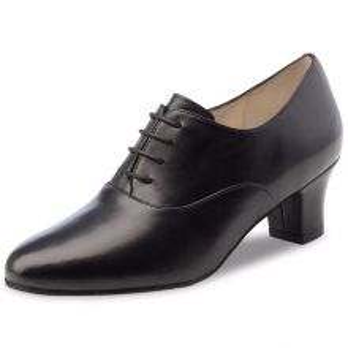 "Chaussures de danse Werner Kern ""Olivia"" 4,5 cm cuir noir"
