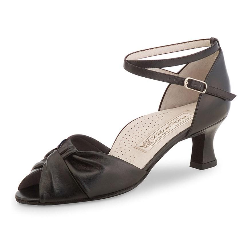 """Chaussures de danse Werner Kern """"Ruth"""" 6 cm cuir or"""