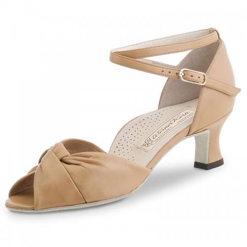 "Chaussures de danse Werner Kern ""Ruth"" 5 cm cuir noir"