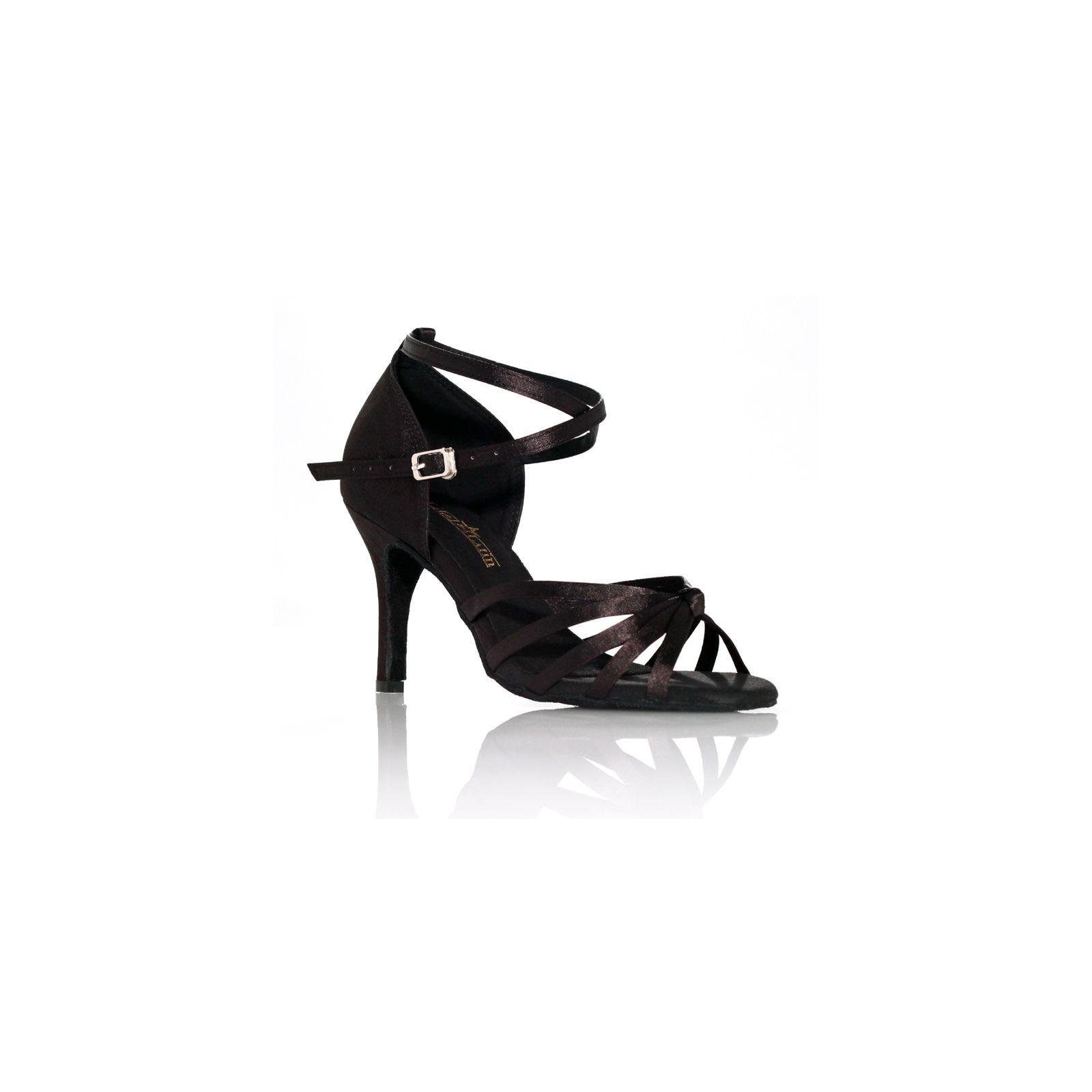 chaussures de danse label latin on 1 noire. Black Bedroom Furniture Sets. Home Design Ideas