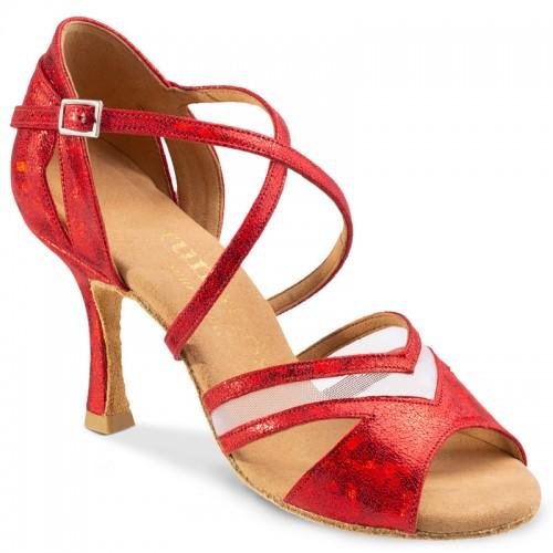 "Chaussures de danse Rummos ""Doris"" cuir rouge"
