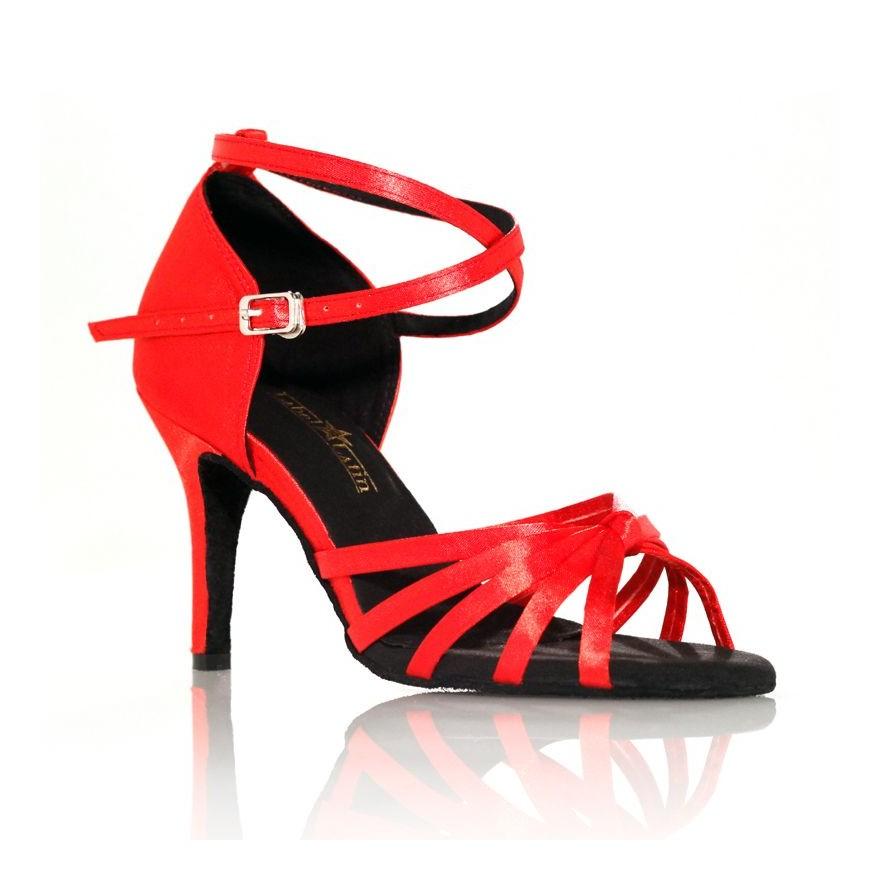 """Chaussure de danse Label Latin""""On 1"""" rouge"""