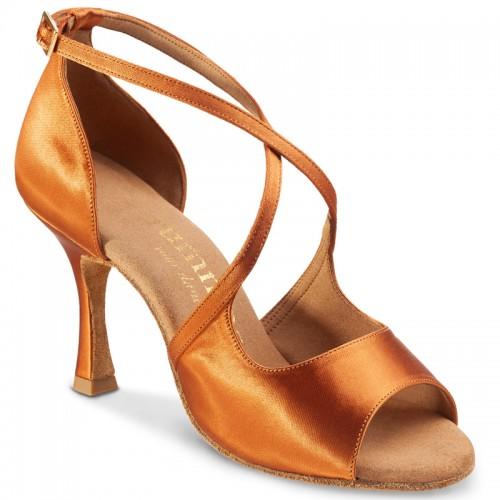"Chaussures de danse Rummos ""Sorina"" satin tan"