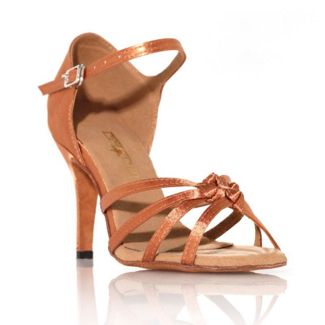 "Chaussures de danse Label Latin""Emma"" bronze"