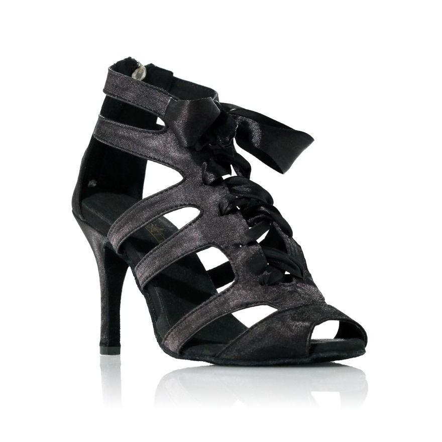 """Chaussure de danse Label Latin""""Laetitia"""" noire"""