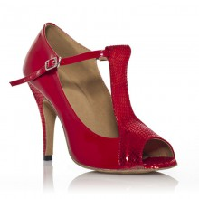 "Chaussure de danse Label Latin""Scala"" rouge"