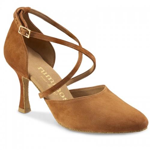 "Chaussures de danse Rummos ""Krista"" nubuck camel"