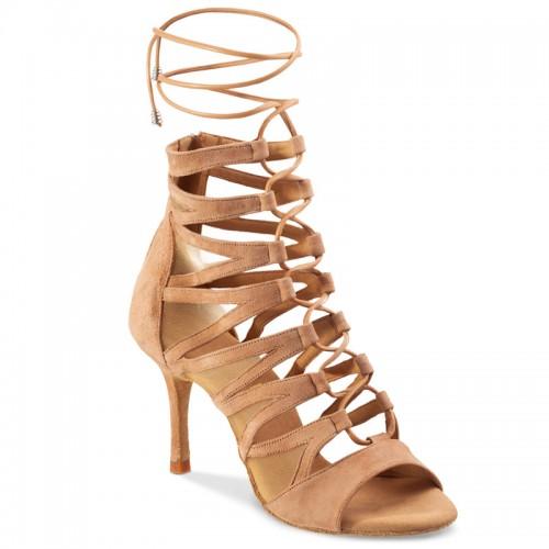 "Chaussures de danse Rummos ""Stephania"" nubuck beige"