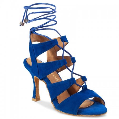 """Chaussures de danse Rummos """"Tina"""" nubuck bleu roy"""
