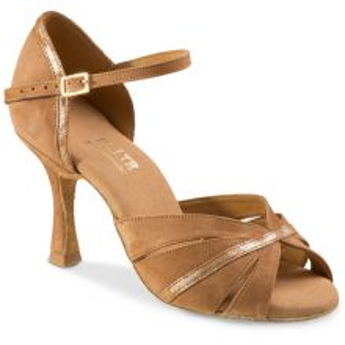 "Chaussures de danse Rummos ""Yola"" satin tan"