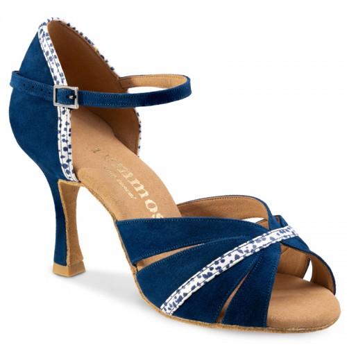 "Chaussures de danse Rummos ""Lorena"" daim bleu marine"