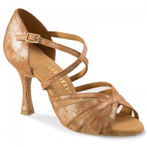 "Chaussures de danse Rummos ""Rina"" cuir doré marbré"