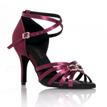 "Chaussures de danse Label Latin""On 2"" violette"