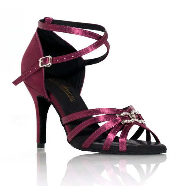 "Chaussure de danse Label Latin""On 2"" violette"