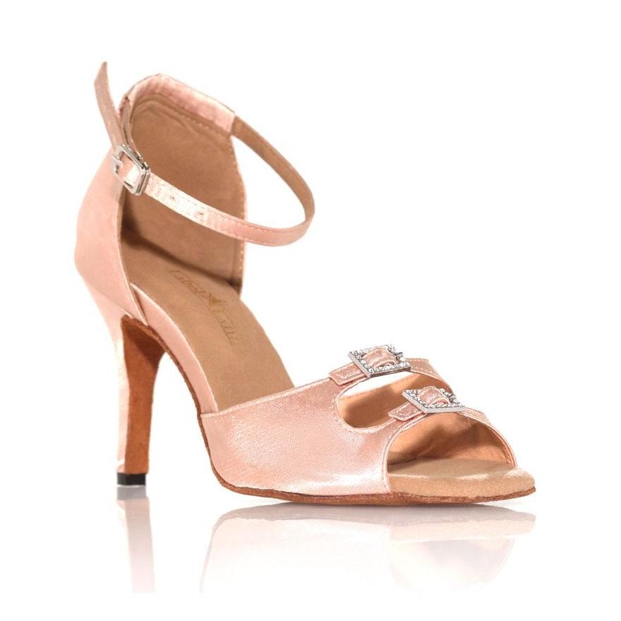 "Chaussure de danse Label Latin ""Strass"" beige clair"