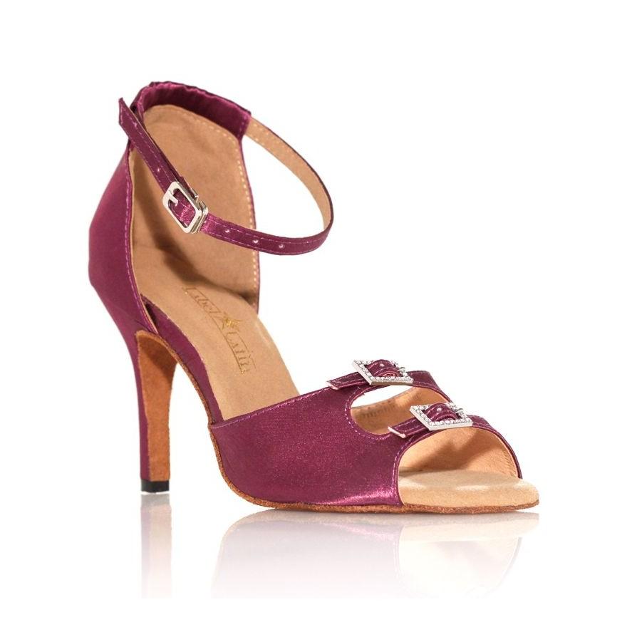 "Chaussure de danse Label Latin ""Strass"" violette"