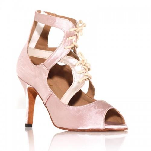 """Chaussures de danse Label Latin """"So Boots"""" beige rosé"""