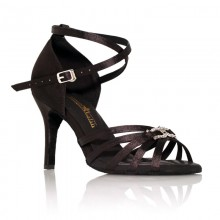 "Chaussure de danse Label Latin""On 2"" noir"