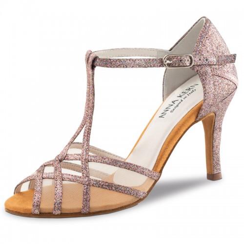 """Chaussures de danse Anna Kern """"Yuna"""" 7,5 cm glitter multicolo"""