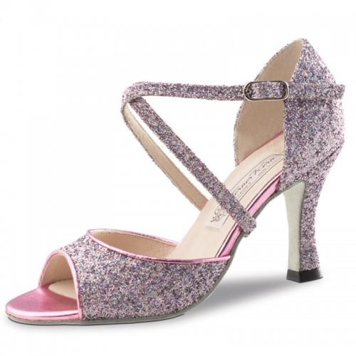 """Chaussures de danse Werner Kern """"Alina"""" 8 cm broca multicolor"""