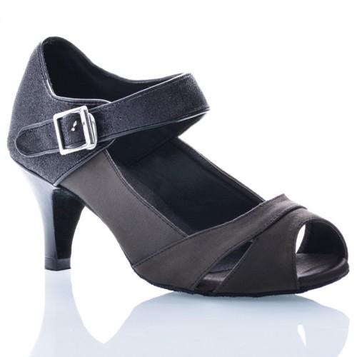 """Chaussures de danse Label Latin """"Clara"""" Noire"""