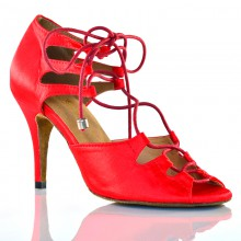 "Chaussures de danse kizomba Label Latin "" Xara rouge"""