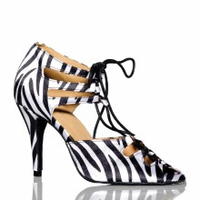 "Chaussures de danse kizomba Label Latin "" Xara jungle"""