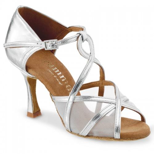 "Chaussures de danse Rummos ""Yola"" cuir argent"