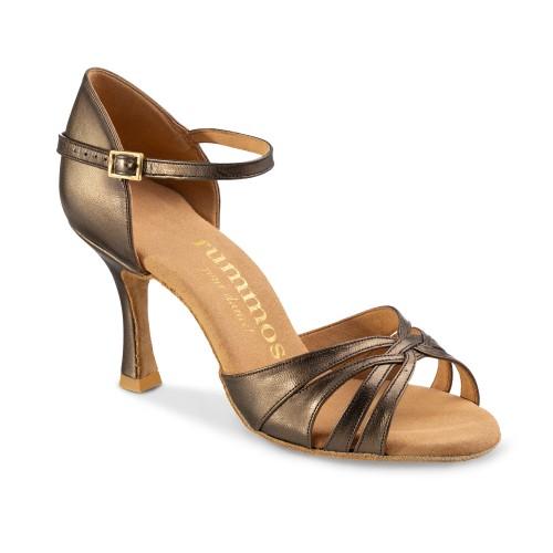 """Chaussures de danse Rummos """"Adena"""" cuir bronze"""