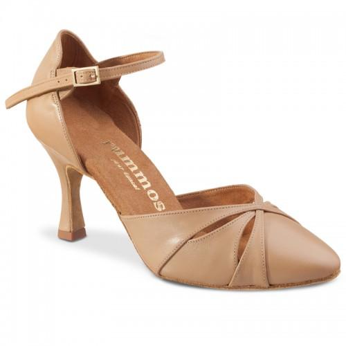 """Chaussures de danse Rummos """"Nora"""" cuir vernis beige"""
