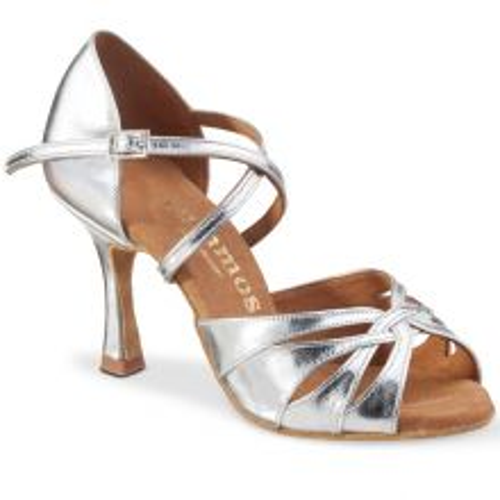 "Chaussures de danse Rummos ""Salena"" cuir argent"