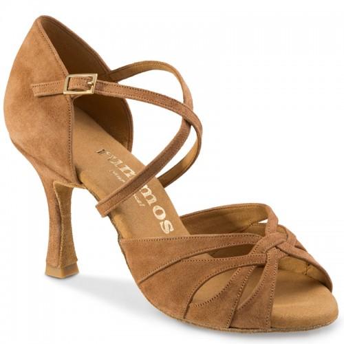 "Chaussures de danse Rummos ""Salena"" daim camel"