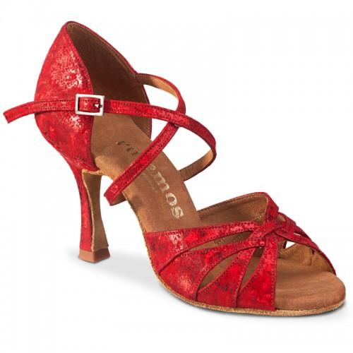 "Chaussures de danse Rummos ""Salena"" cuir rouge"