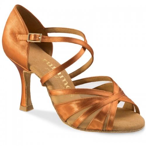 "Chaussures de danse Rummos ""Rina"" satin tan"