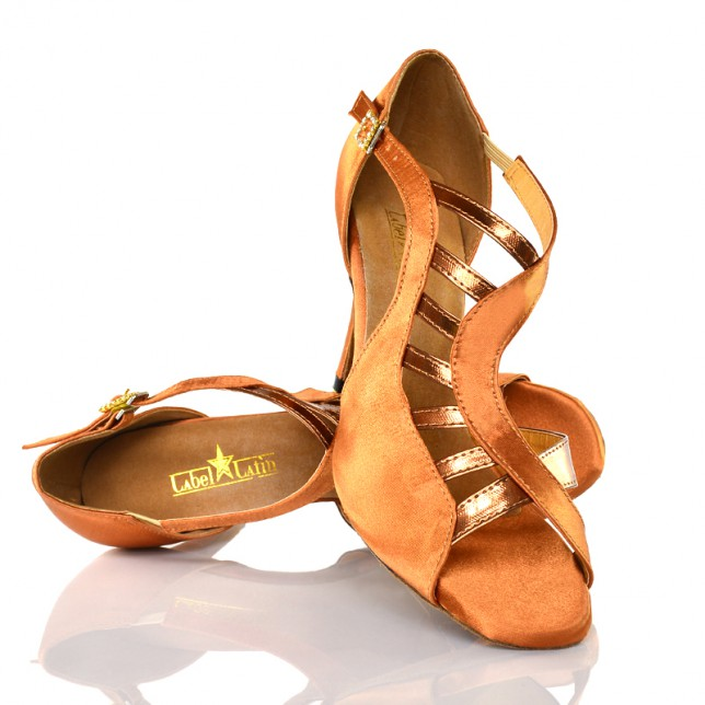 "Chaussures de danse salsa Label Latin ""Mica tan"""