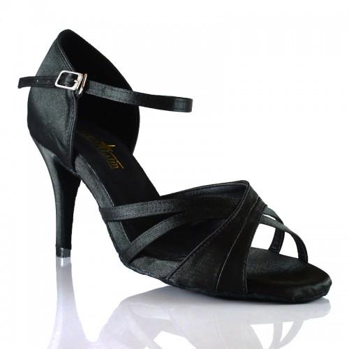 """Chaussures de danse salsa Label Latin """"Natalia noir"""""""