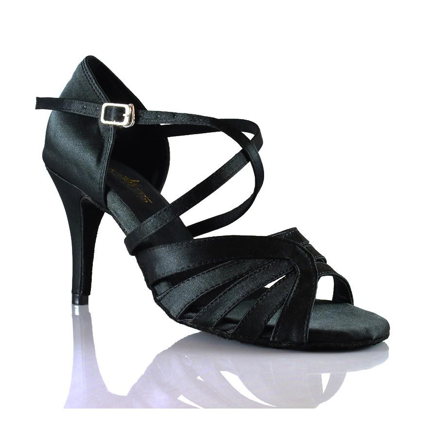 "Chaussures de danse salsa Label Latin ""Rava Noir"""