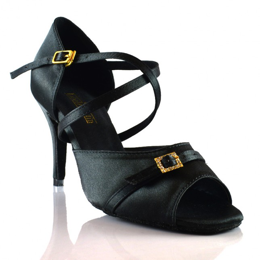 "Chaussures de danse salsa Label Latin ""Serena noir"""