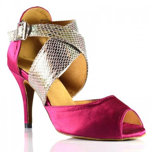Chaussures de danse salsa Label Latin violet